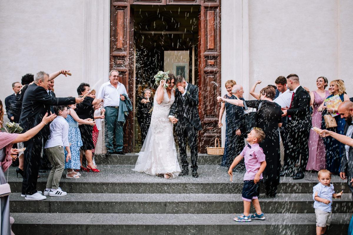 uscita chiesa matrimonio castel gandolfo