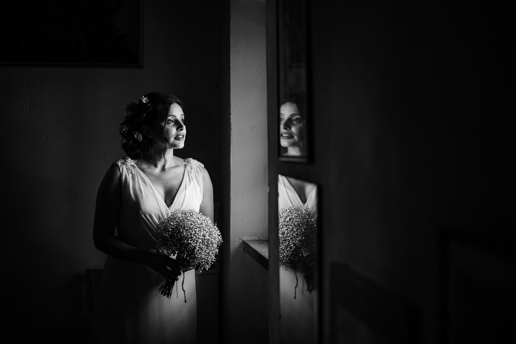 ritratto fotografico sposa