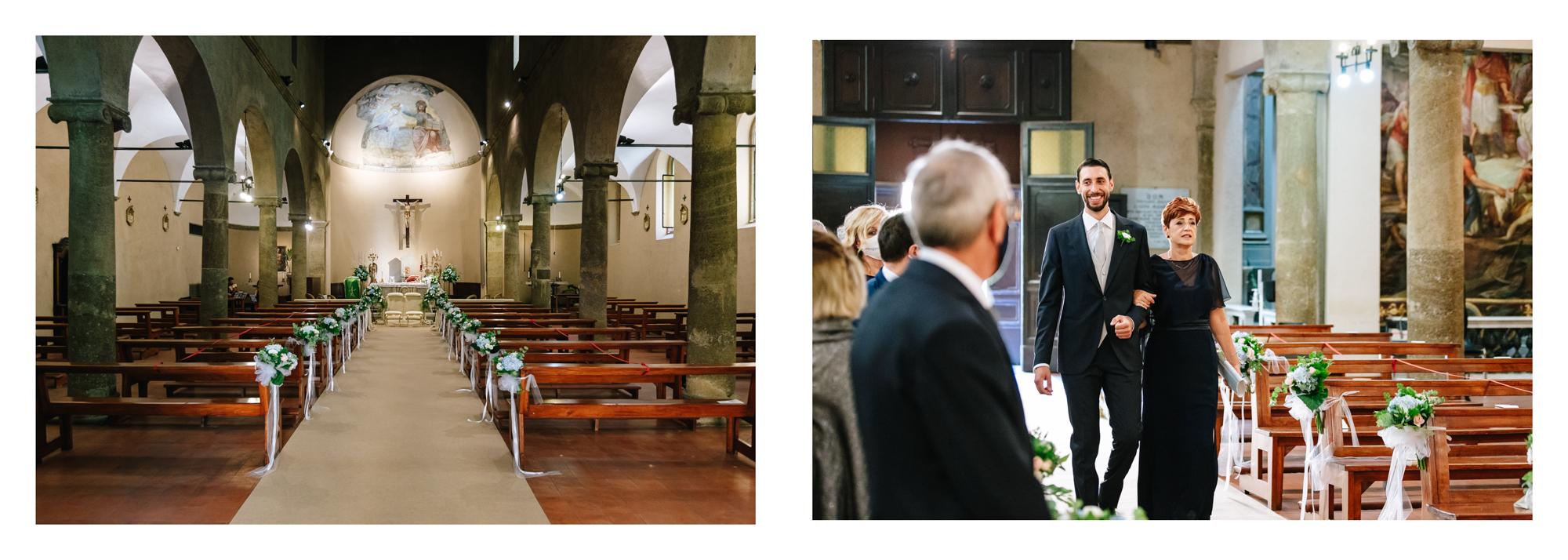 entrata sposo