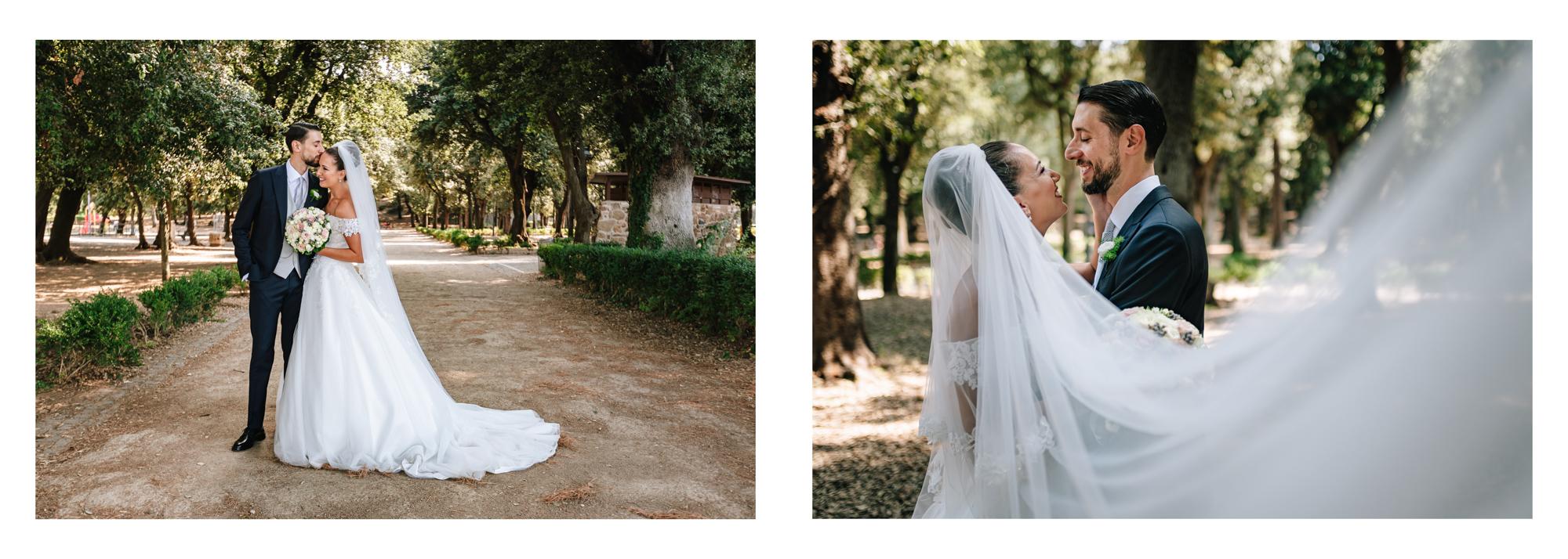 foto coppia sposi matrimonio frascati