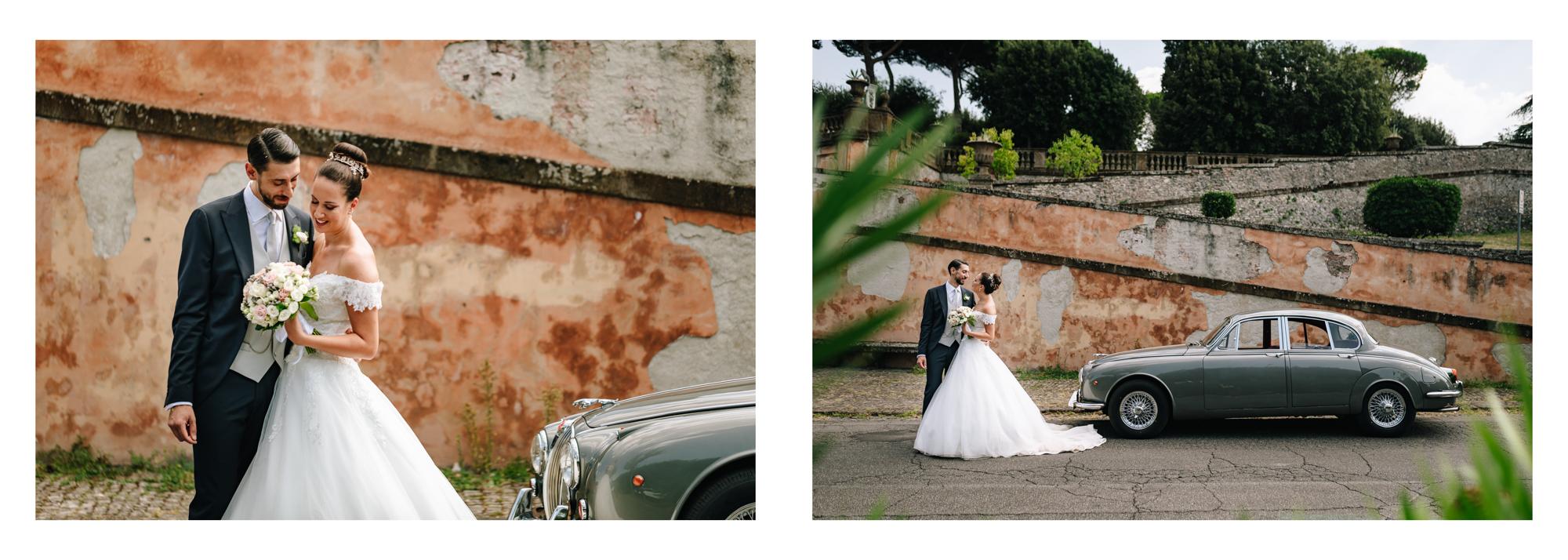 foto esterni sposi matrimonio frascati