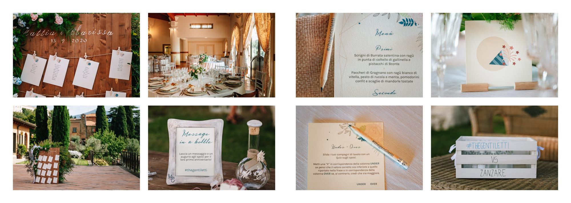 dettagli ristorante sposi