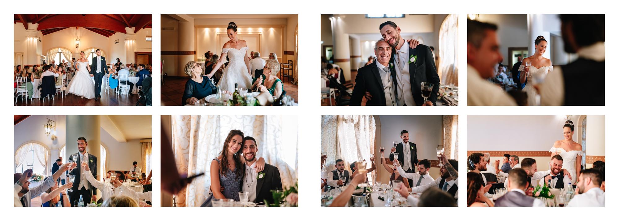 reportage ristorante sposi