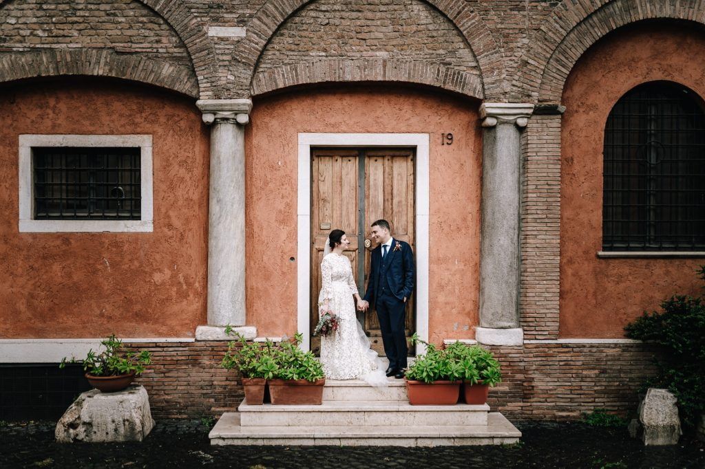 matrimonio a trastevere